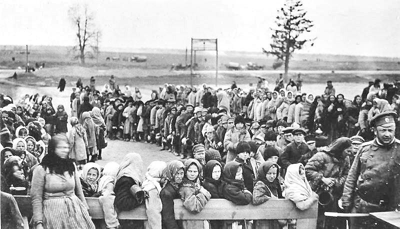 День за днём Статьи Беженцы Первой мировой и русская революция